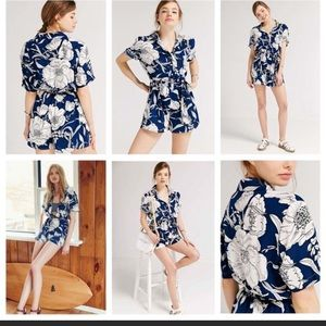 Urban Outfitters Blue Kimchi romper